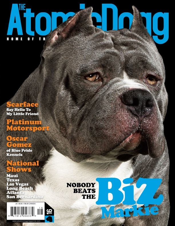 Atomic Dogg Magazine featuring Squirez Bullies Biz markie