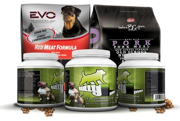 supplements and dry dog foods