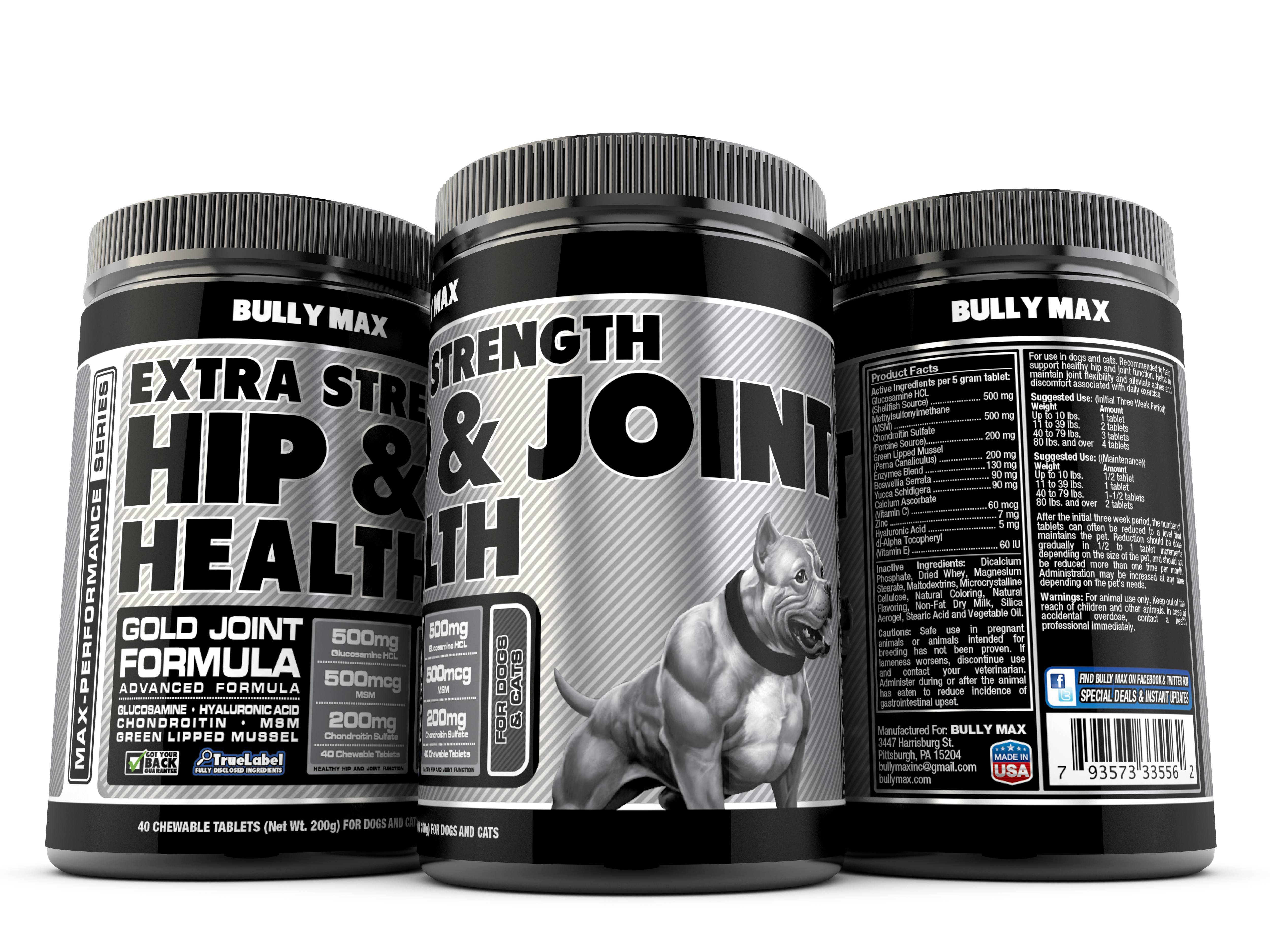 extra strength joint supplement for dogs