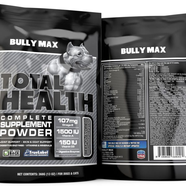 Bully Max Total Health