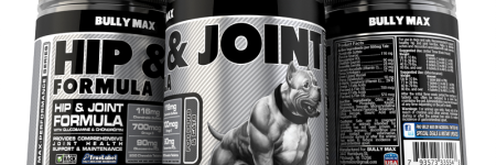 Bully Max's All New Line of Joint Supplements for Dogs