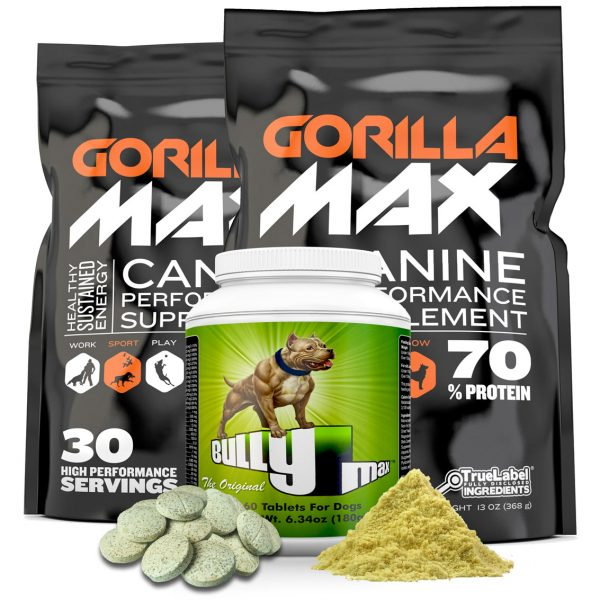 Bully Max Dog Food Supplements For Building Muscle